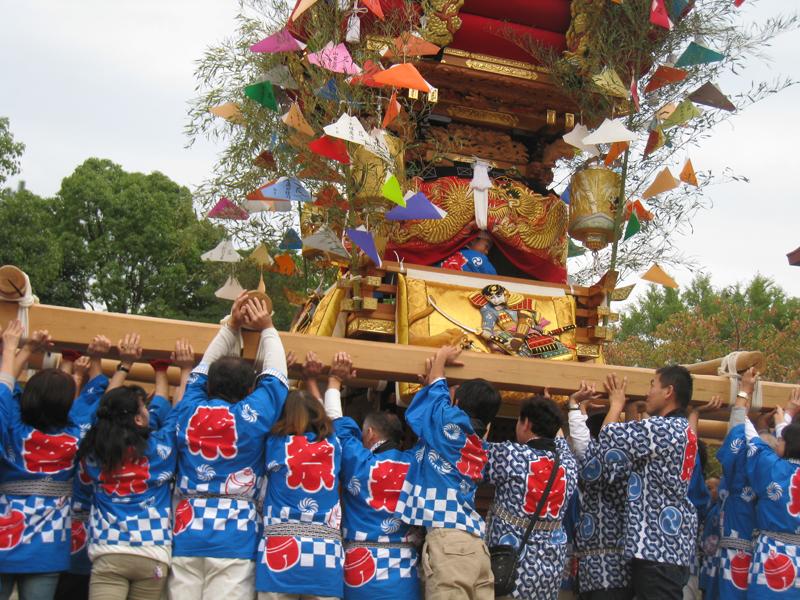 平野八幡神社秋祭り